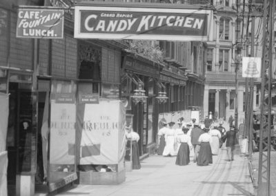 GRAND RAPIDS CANDY KITCHEN 1907-1909